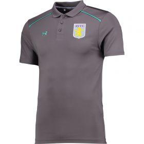 Aston Villa Core Team Polo - Graphite