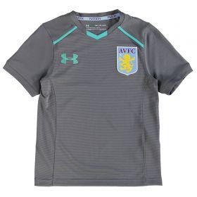 Aston Villa Training Top - Graphite - Kids