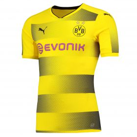 BVB Home Authentic Shirt 2017-18 with Dahoud 19 printing