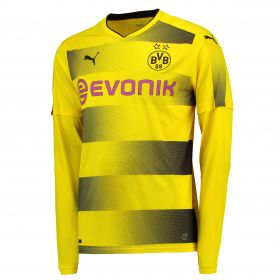 BVB Home Shirt 2017-18 - Long Sleeve with Dahoud 19 printing