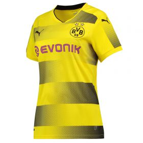 BVB Home Shirt 2017-18 - Womens with Dahoud 19 printing