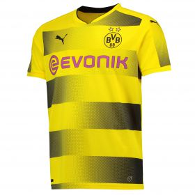 BVB Home Shirt 2017-18 with Dahoud 19 printing