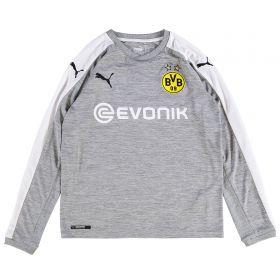 BVB Third Shirt 2017-18 -Kids - Long Sleeve with Dahoud 19 printing