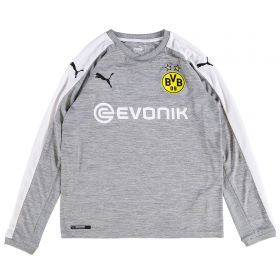 BVB Third Shirt 2017-18 -Kids - Long Sleeve with Zagadou 2 printing