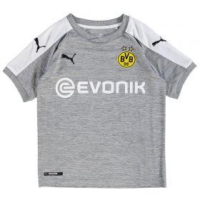 BVB Third Shirt 2017-18 - Kids with Dahoud 19 printing