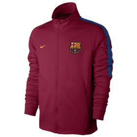 Barcelona Authentic Franchise Jacket - Red
