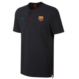 Barcelona Authentic Grand Slam Polo - Black