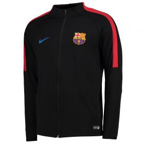 Barcelona Strike Aeroswift Track Jacket - Black
