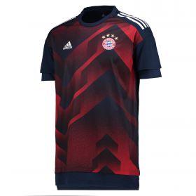 Bayern Munich Home Pre Match Shirt - Navy