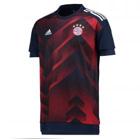 Bayern Munich Home Pre Match Shirt - Navy - Kids