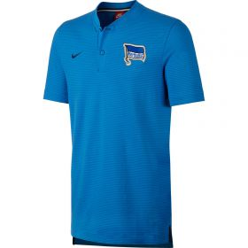Hertha Berlin Authentic Grand Slam Polo - Blue