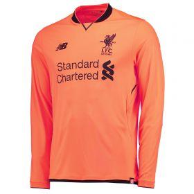 Liverpool Third Shirt 2017-18 - Long Sleeve with Sturridge 15 printing