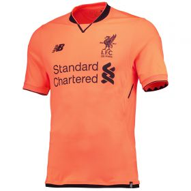 Liverpool Third Shirt 2017-18 with Wijnaldum 5 printing