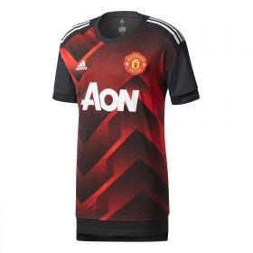 Manchester United Home Pre Match Shirt - Red
