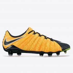 Nike Hypervenom Phantom III Firm Ground Football Boots - Laser Orange/White/Black/Volt