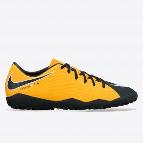 Nike Hypervenom Phelon III Astroturf Trainers - Laser Orange/Black/Black/Volt