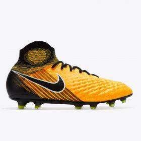 Nike Magista Obra II Firm Ground Football Boots - Laser Orange/Black/White/Volt