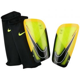 Nike Mercurial Lite Shinguards - Orange/Black/White