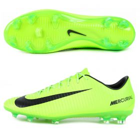 Nike Mercurial Veloce III Firm Ground Football Boots - Electric Green/Black/Flash Lime/White