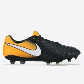 Nike Tiempo Legend VII Firm Ground Football Boots - Black/White/Laser Orange/Volt
