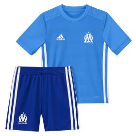 Olympique de Marseille Away Mini Kit 2017-18 with Mandanda 30 printing