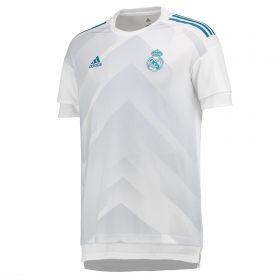Real Madrid Home Pre Match Shirt - White