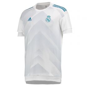 Real Madrid Home Pre Match Shirt - White - Kids