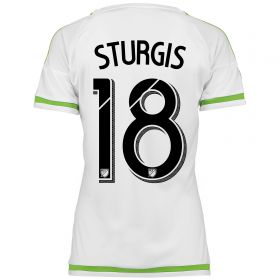 Seattle Sounders Away Shirt 2015-16 - Womens with Sturgis 18 printing