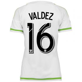 Seattle Sounders Away Shirt 2015-16 - Womens with Valdez 16 printing