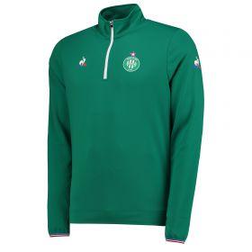 St Etienne Training Quarter Zip Top - Green