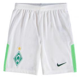Werder Bremen Away Stadium Shorts 2017-18 - Kids