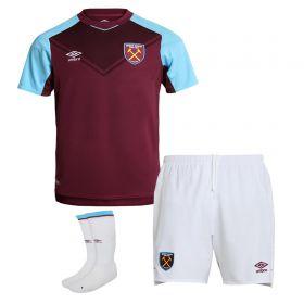 West Ham United Home Baby Kit 2017-18
