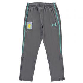 Aston Villa Training Pants w/zip - Graphite - Kids