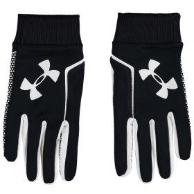 Aston Villa Under Armour Field Players Glove - Black/White/White
