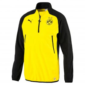 BVB Training Fleece - Yellow