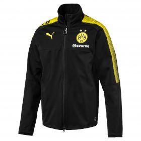 BVB Training Softshell Jacket - Black