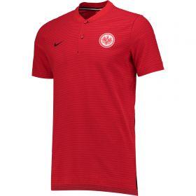 Eintracht Frankfurt Authentic Grand Slam Polo - Red
