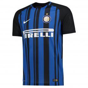 Inter Milan Home Vapor Match Shirt 2017-18 with Ansaldi 15 printing