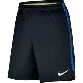 Inter Milan Squad Training Shorts - Black