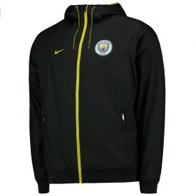 Manchester City Authentic Windrunner - Dark Grey