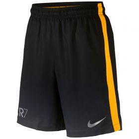 Nike CR7 Squad Shorts - Dark Grey/Laser Orange/Metallic Silver - Kids