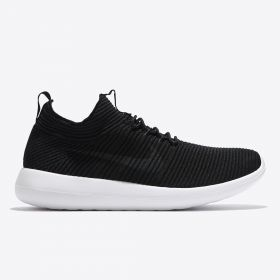 Nike Roshe Two Flyknit V2 Trainers - Black/Anthracite/Black/White