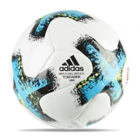 adidas Torfabrik Mini Football - White