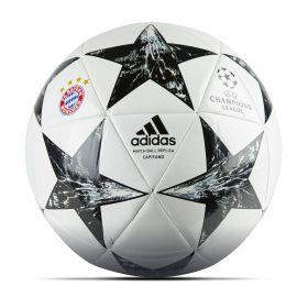 Bayern Munich Finale 17 Capitano Football - Size 5 - White