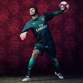 Arsenal Home Goalkeeper Sock 2017-18