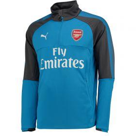 Arsenal Training 1/4 Zip Top - Blue