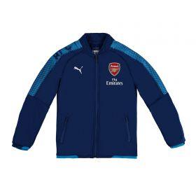 Arsenal Training Stadium Jacket - Blue - Kids