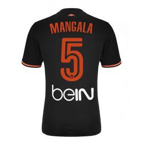Valencia CF Away Shirt 2016-17 - Kids with Mangala 5 printing