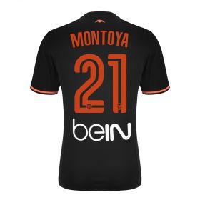 Valencia CF Away Shirt 2016-17 - Kids with Montoya 21 printing