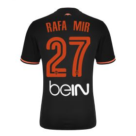 Valencia CF Away Shirt 2016-17 - Kids with Rafa Mir 27 printing
